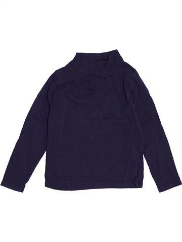 T-shirt manches longues fille LISA ROSE bleu 6 ans hiver #1547955_1