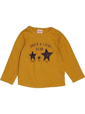 T-shirt manches longues fille TAPE À L'OEIL jaune 2 ans hiver #1548060_1