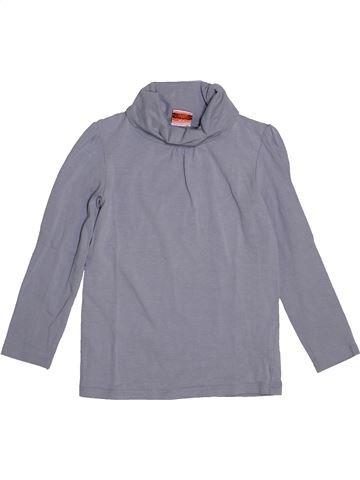 T-shirt col roulé fille TAPE À L'OEIL gris 5 ans hiver #1548526_1