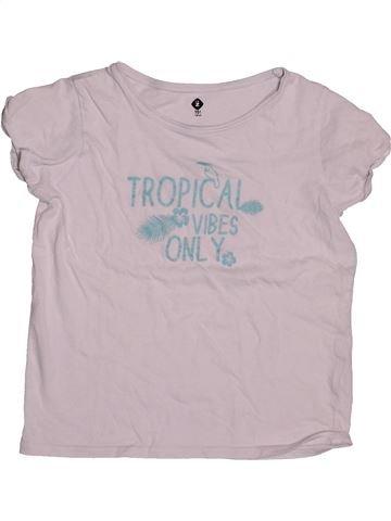 T-shirt manches courtes fille GENERATION Z gris 10 ans été #1548749_1