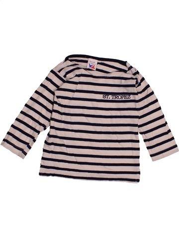 T-shirt manches longues unisexe NOUVELLE VOGUE gris 12 mois hiver #1548848_1