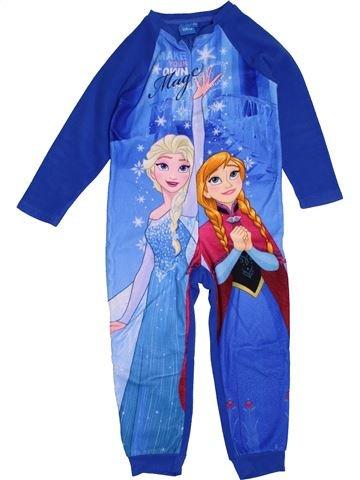 Robe de chambre fille DISNEY bleu 4 ans hiver #1549068_1