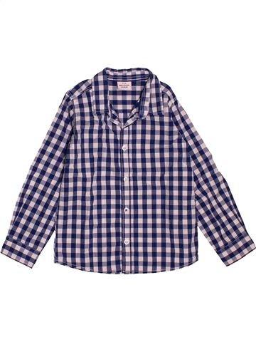 Chemise manches longues garçon TAPE À L'OEIL violet 3 ans hiver #1550123_1