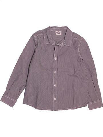 Chemise manches longues garçon TAPE À L'OEIL gris 4 ans hiver #1550137_1