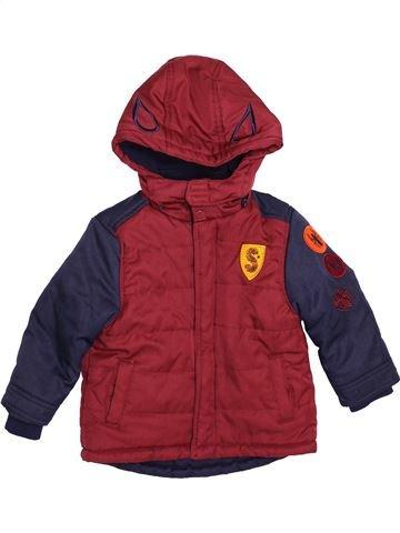 Abrigo niño SUPERS HÉROS violeta 3 años invierno #1550154_1