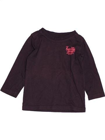 T-shirt manches longues garçon TAPE À L'OEIL beige 2 ans hiver #1550738_1