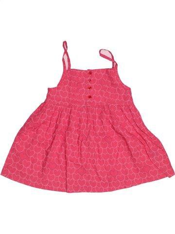 Blouse manches courtes fille VYNIL FRAISE rose 9 ans été #1551021_1