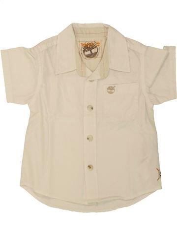 Chemise manches longues garçon TIMBERLAND beige 9 mois hiver #1553506_1
