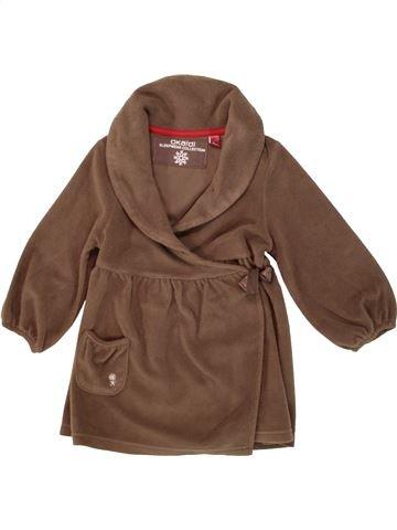 Robe de chambre fille OKAIDI marron 4 ans hiver #1553731_1