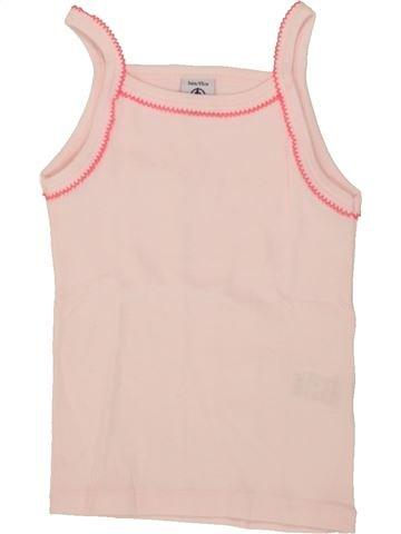 T-shirt sans manches fille PETIT BATEAU violet 3 ans été #1553972_1