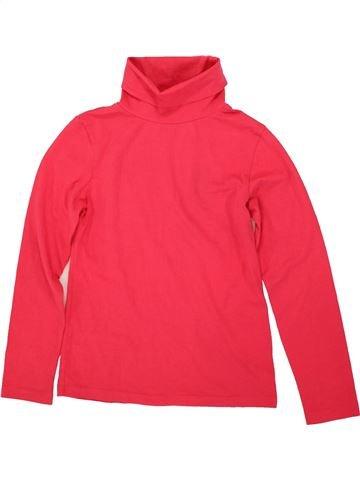 T-shirt col roulé fille TEX rouge 10 ans hiver #1556598_1