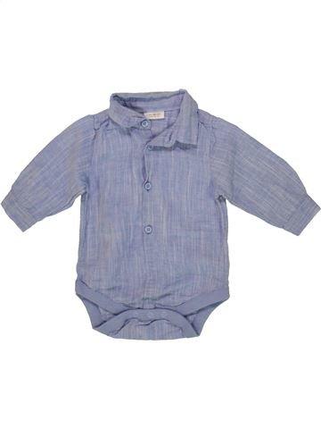 Chemise manches longues garçon NEXT BABY gris 6 mois hiver #1557085_1