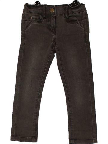 Pantalon fille TAPE À L'OEIL beige 2 ans hiver #1557620_1