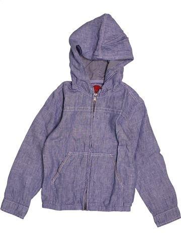 Chemise manches longues garçon OKAIDI gris 4 ans hiver #1558008_1