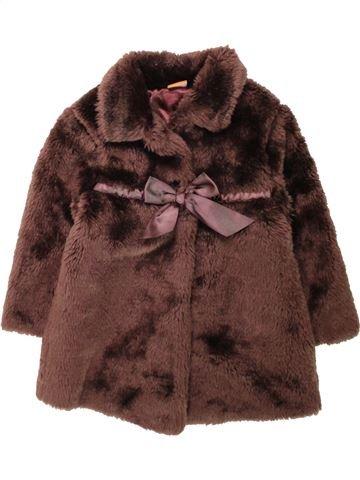Manteau fille MINI MODE marron 3 ans hiver #1558057_1