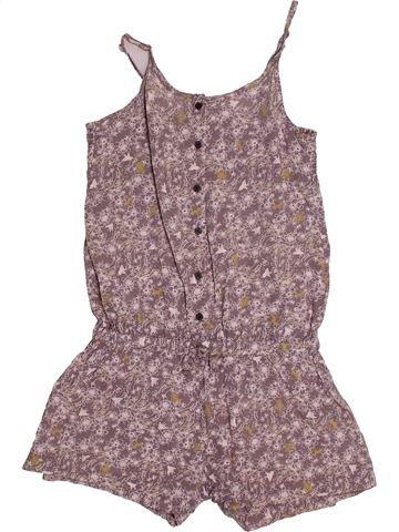 Combinaison courte fille CAPTAIN TORTUE violet 8 ans été #1558366_1