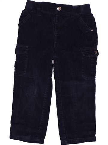 Pantalon garçon CADET ROUSSELLE noir 2 ans hiver #1558548_1