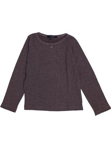 T-shirt manches longues fille LILI GAUFRETTE violet 8 ans hiver #1558959_1