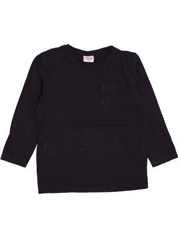 T-shirt manches longues garçon TAPE À L'OEIL noir 4 ans hiver #1559018_1