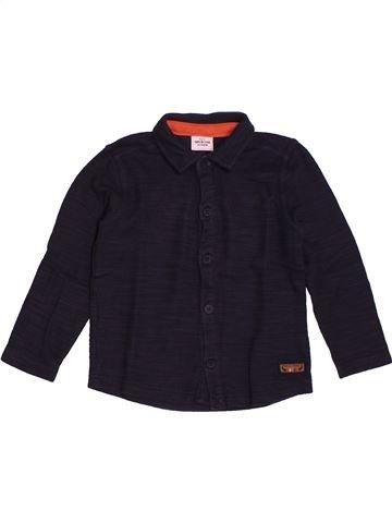 Chemise manches longues garçon TAPE À L'OEIL noir 3 ans hiver #1559113_1