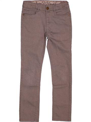 Pantalon fille TAPE À L'OEIL marron 7 ans hiver #1559164_1