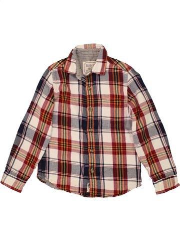 b2b15b290 Camisa de manga larga niño BASS 10 marrón 8 años invierno  1559383 1