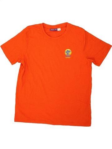 T-shirt manches courtes garçon PEPPERTS rouge 12 ans été #1559660_1