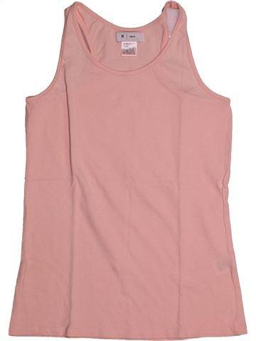 Camiseta sin mangas niña LA REDOUTE CRÉATION rosa 12 años verano #1559798_1