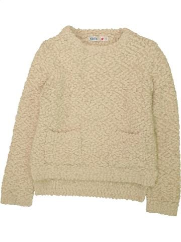 Pull fille M&CO beige 8 ans hiver #1559889_1