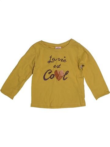 T-shirt manches longues fille TAPE À L'OEIL marron 2 ans hiver #1560064_1