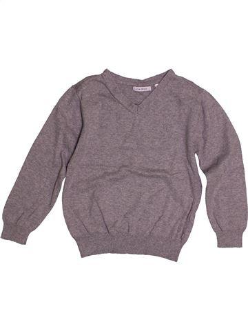 Pull garçon OKAIDI gris 6 ans hiver #1560315_1