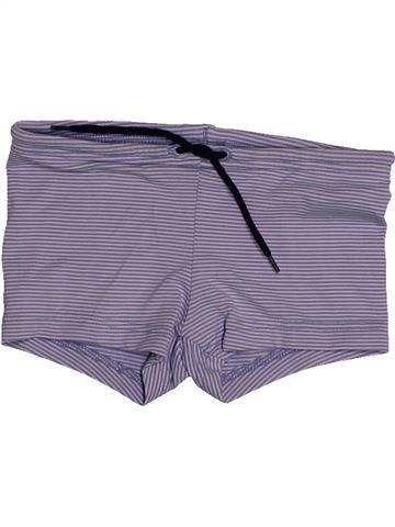 Maillot de bain garçon PETIT BATEAU violet 4 ans été #1560827_1