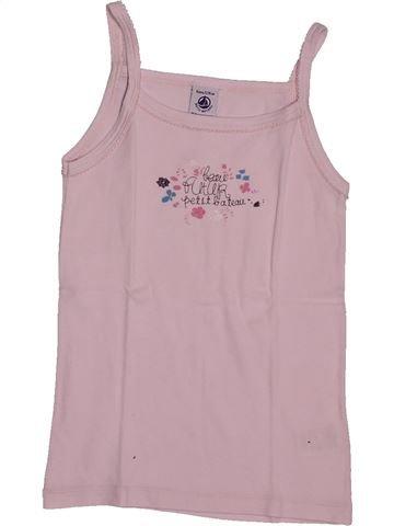 T-shirt sans manches fille PETIT BATEAU gris 8 ans été #1560887_1