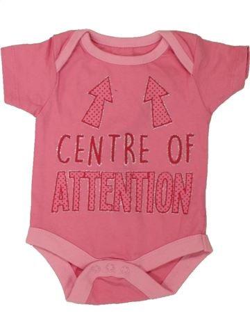 Camiseta de manga corta niña PEP&CO rosa 0 meses verano #1560900_1