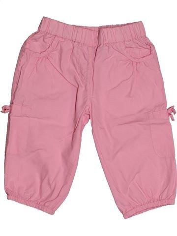 Pantalon fille TEX rose 4 ans été #1561025_1