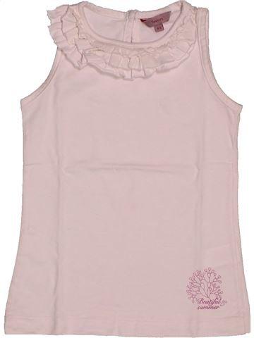 T-shirt sans manches fille TEX rose 5 ans été #1561035_1