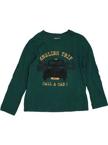 Camiseta de manga larga niño LA REDOUTE verde 6 años invierno #1561134_1