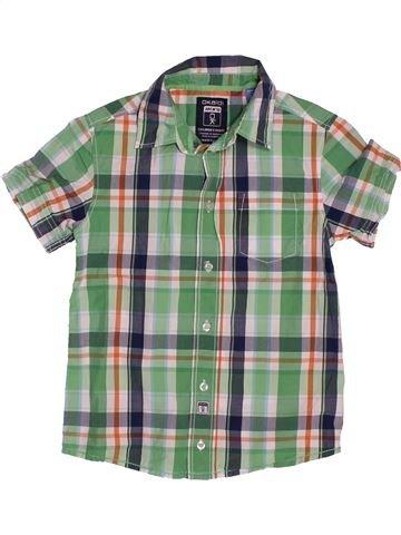 Chemise manches courtes garçon OKAIDI vert 8 ans été #1561685_1