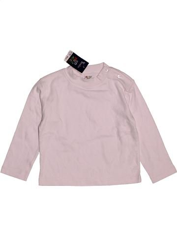 T-shirt manches longues unisexe BABY MAC rose 18 mois hiver #1561924_1