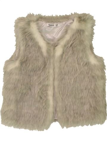 Gilet fille HEATONS beige 5 ans hiver #1562036_1