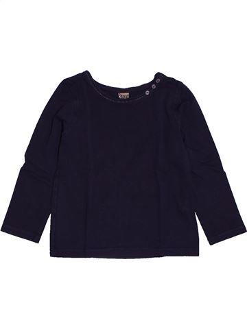 T-shirt manches longues fille TAPE À L'OEIL noir 3 ans hiver #1562675_1
