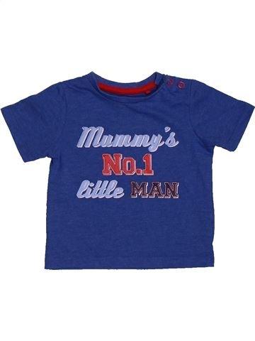 T-shirt manches courtes garçon TU bleu 6 mois été #1563147_1