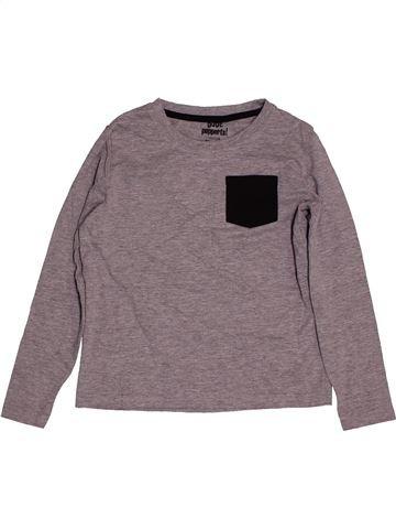T-shirt manches longues garçon PEPPERTS gris 8 ans hiver #1563218_1