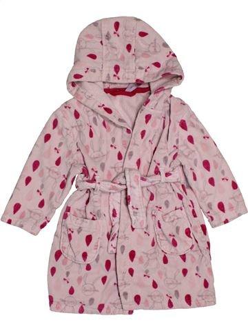 Peignoir fille ORCHESTRA rose 2 ans hiver #1564816_1