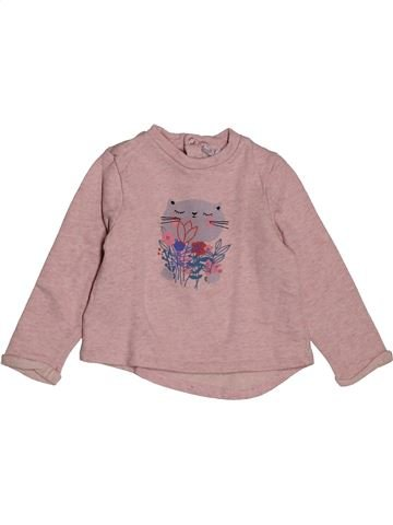 Sweat fille CADET ROUSSELLE rose 3 ans hiver #1564941_1