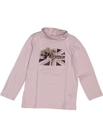 Camiseta de cuello alto niña IN EXTENSO rosa 4 años invierno #1565028_1
