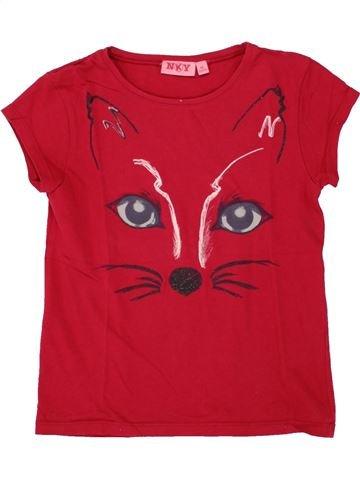 8bc1526e959 vêtements KIABI enfant. T-shirt manches courtes fille KIABI rouge 8 ans été   1652960 1