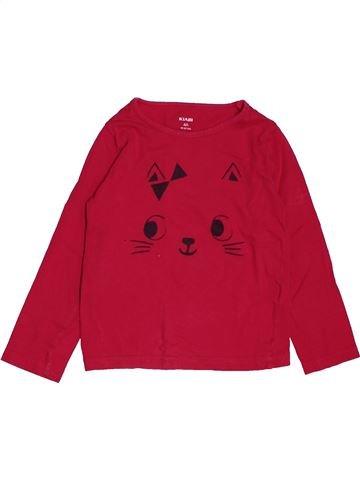 5e727fbed Camiseta de manga corta niña KIABI rojo 4 años verano  1666639 1