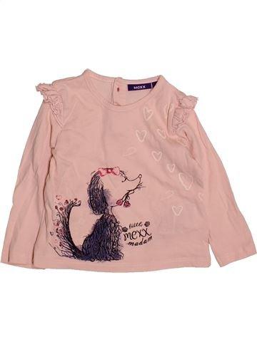 ae8a15e1931e9 T-shirt manches longues fille MEXX rose 12 mois hiver  1683417 1