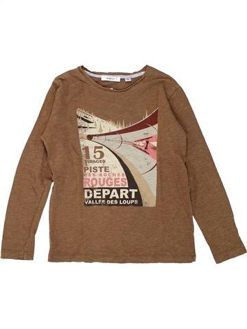 4783e5ef74b3d T-shirt manches longues garçon MARÈSE marron 8 ans hiver  1686023 1